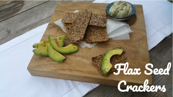 Flax crackers as a bread replacement, Ditch the Wheat!